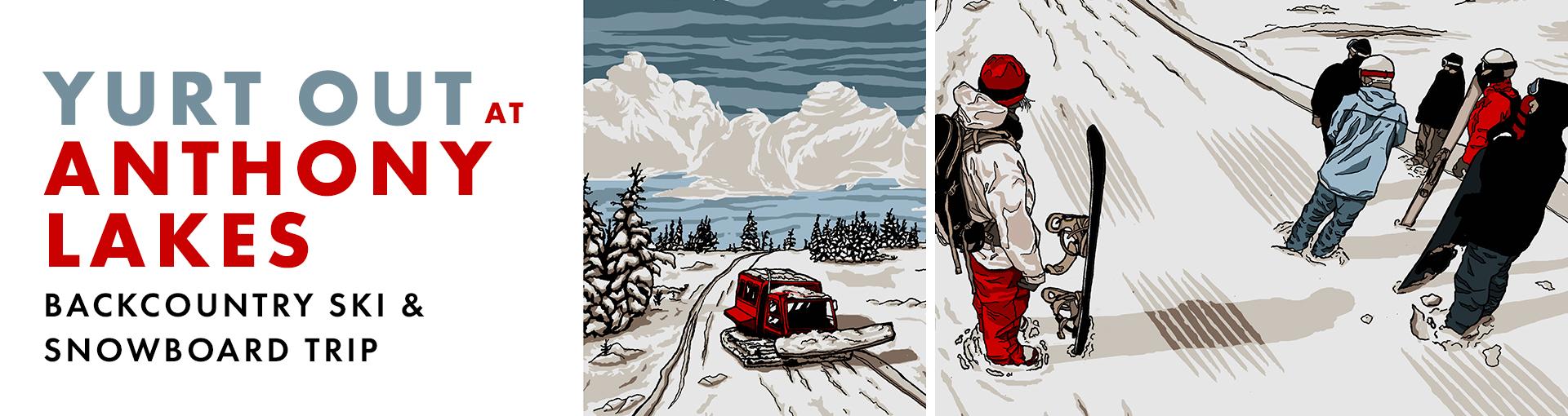 Yurt Out Backcountry Ski Trip