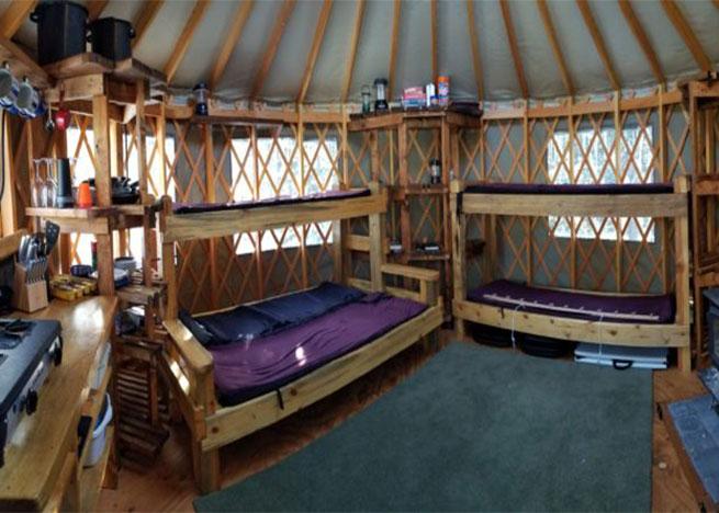 Anthony Lakes Yurts