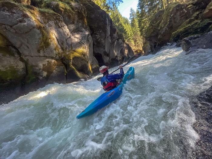 Pyranha Scorch Whitewater Kayak